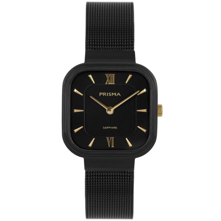 Prisma Carré Black horloge