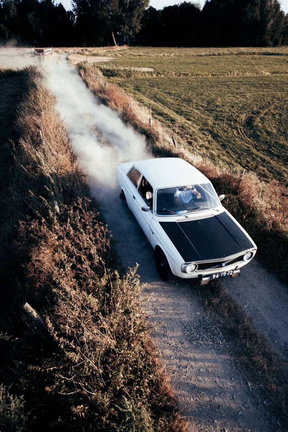 lowlands the netherlands janfillem volvo classic car