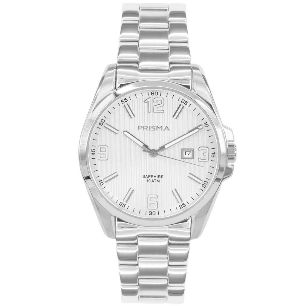 Prisma P1145 heren horloge edelstaal