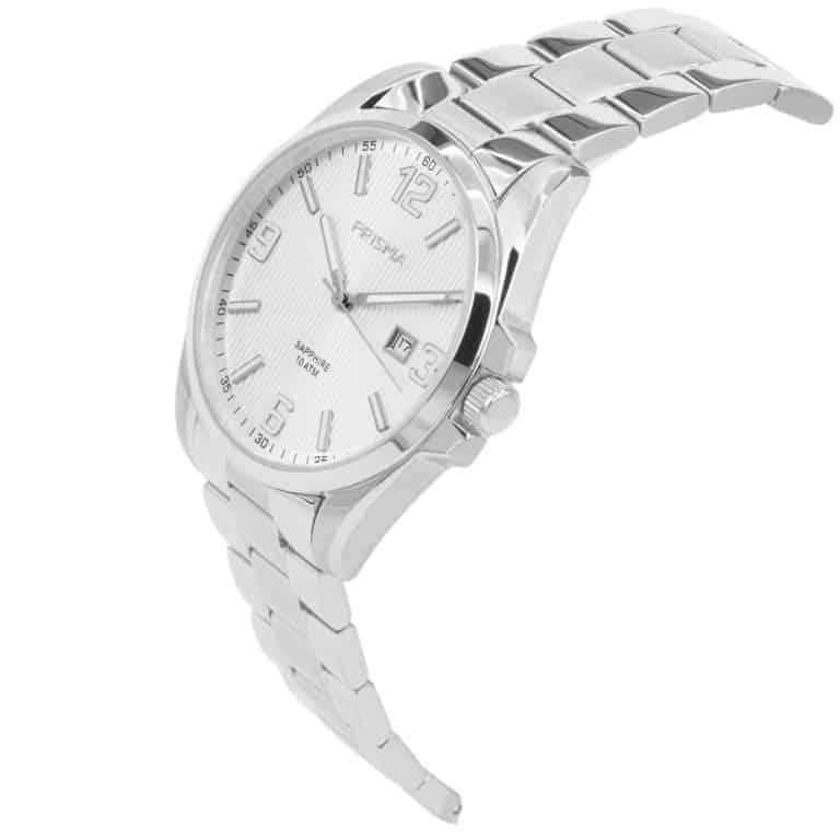 Prisma-P1145-heren-horloge-edelstaal-shockproof-schuin