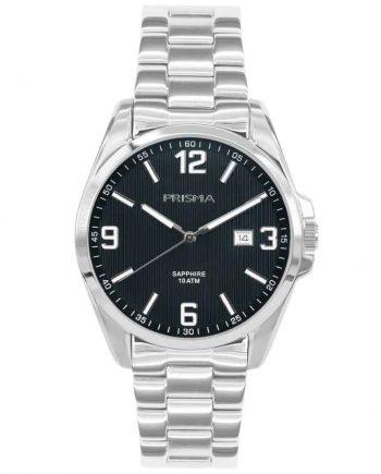 Prisma P1147 heren horloge edelstaal