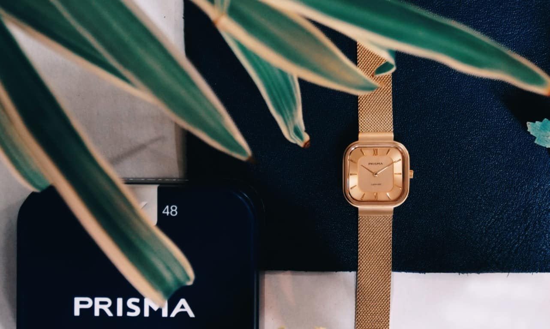prisma carre square watch vierkant horloge 1872