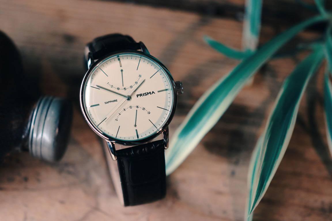 prisma voyage zilver p.1600 herenhorloge men's watch classic stylish stijlvol