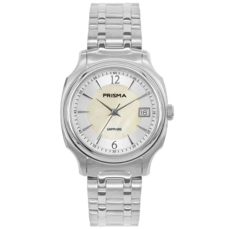 Prisma-P1135-dames-horloge-edelstaal-solid-zilver