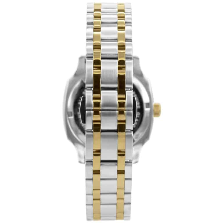 Prisma-P1136-dames-horloge-edelstaal-solid-bicolor-achterkant