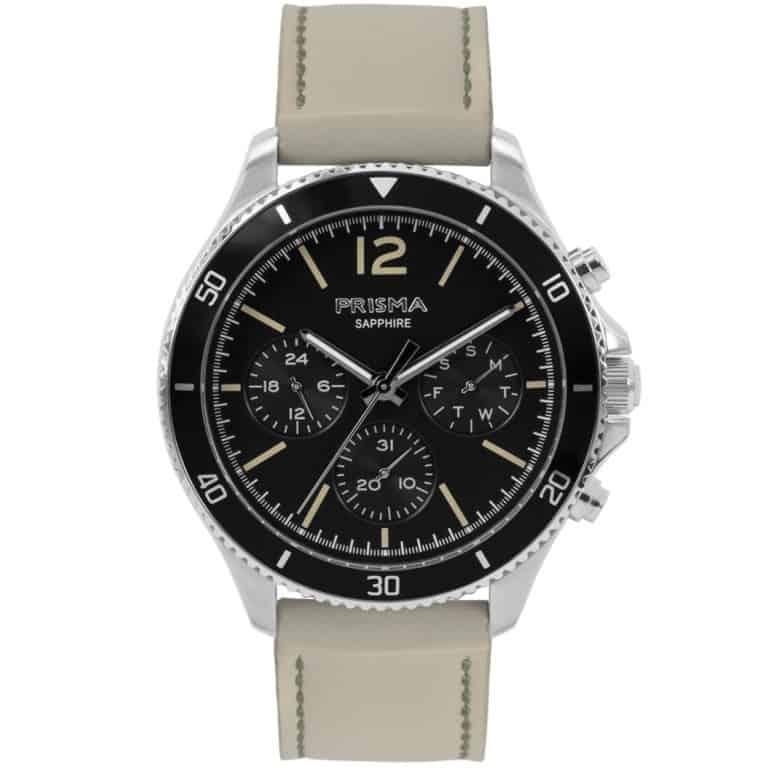 Prisma-P1320-heren-horloge-chrono-zwart-leder