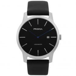 Prisma P1820 heren horloge leeghwater zilver