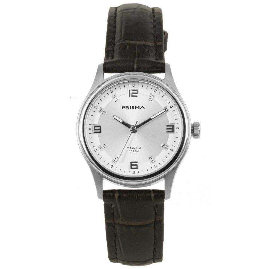 Prisma 1544 titanium dames horloge 10 ATM
