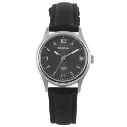Prisma P1546 titanium 10 ATM dames horloge zwart