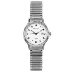 Prisma 1716 dames horloge titanium rekband