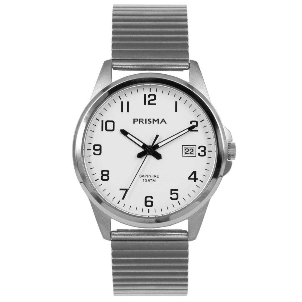 Prisma P1723 092 heren horloge titanium rekband