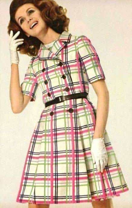 1960 ladies style sixties women dress