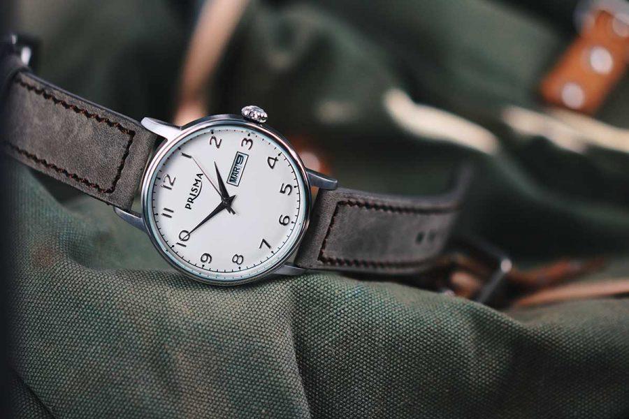 prisma classic vintage look watch