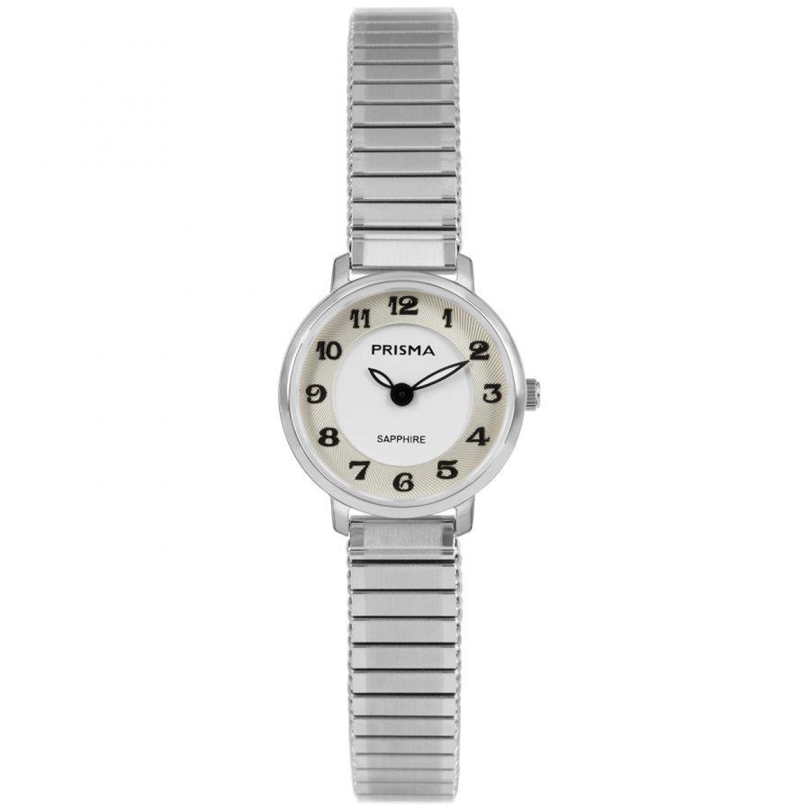 Prisma-1843-dames-horloge-rekband-zilver
