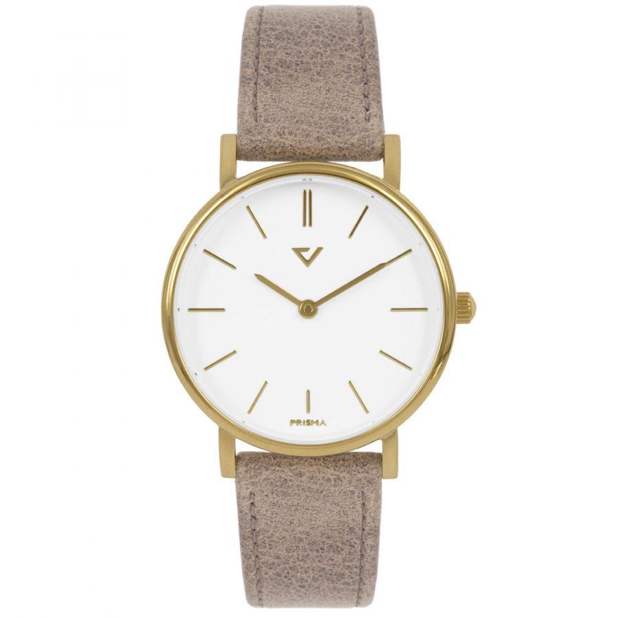 Prisma-P1861-453E-dames-horloge-edelstaal-goud-recht