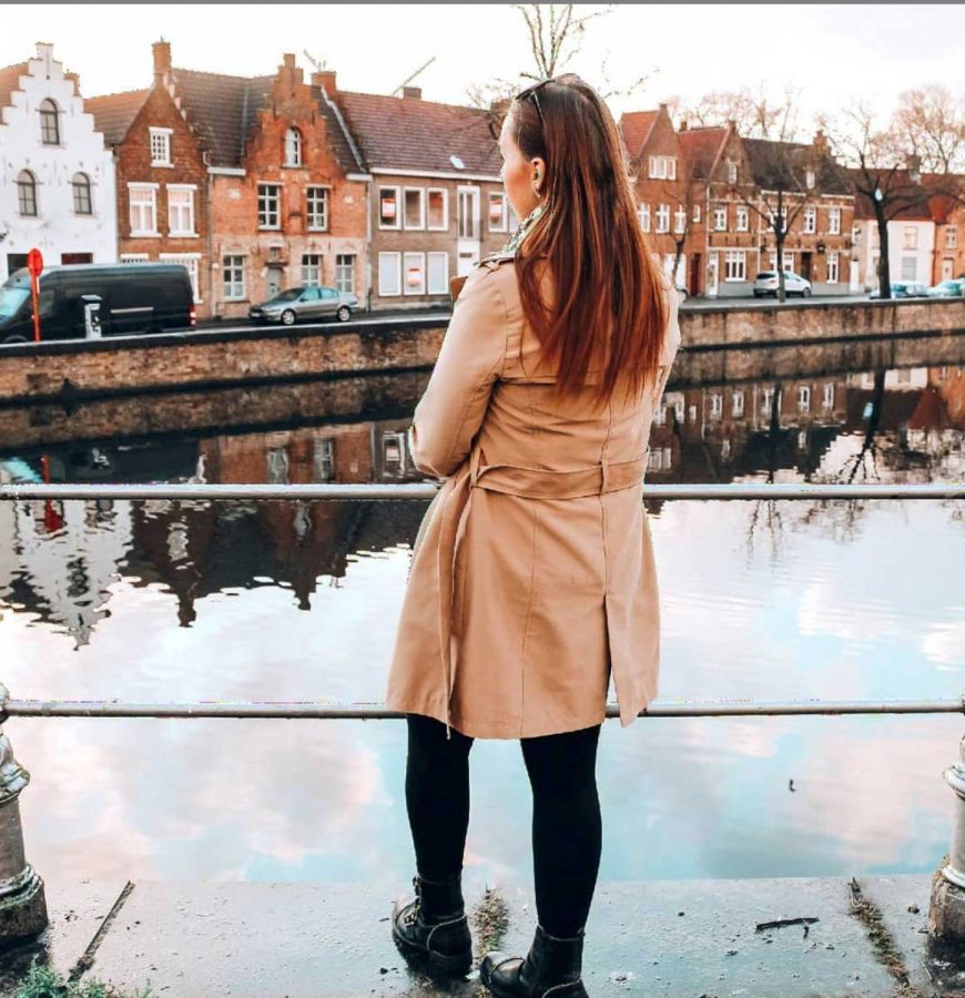 Exploring Bruges with Jilltje
