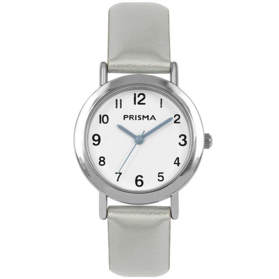 Prisma-CW356-kids-horloge-meisje-zilver-vera