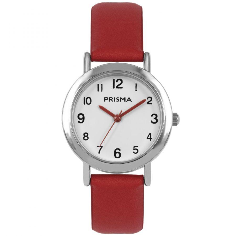 Prisma-CW357-kids-horloge-meisje-rood-vera