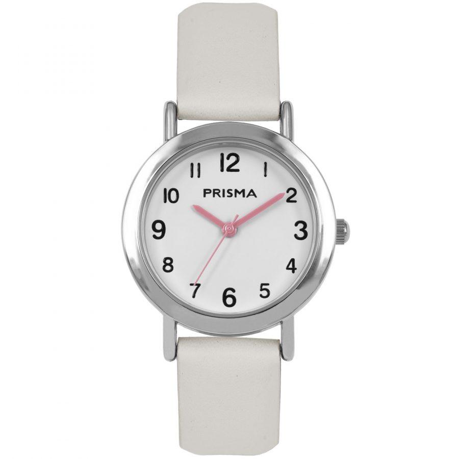 Prisma-CW358-kids-horloge-meisje-wit-vera