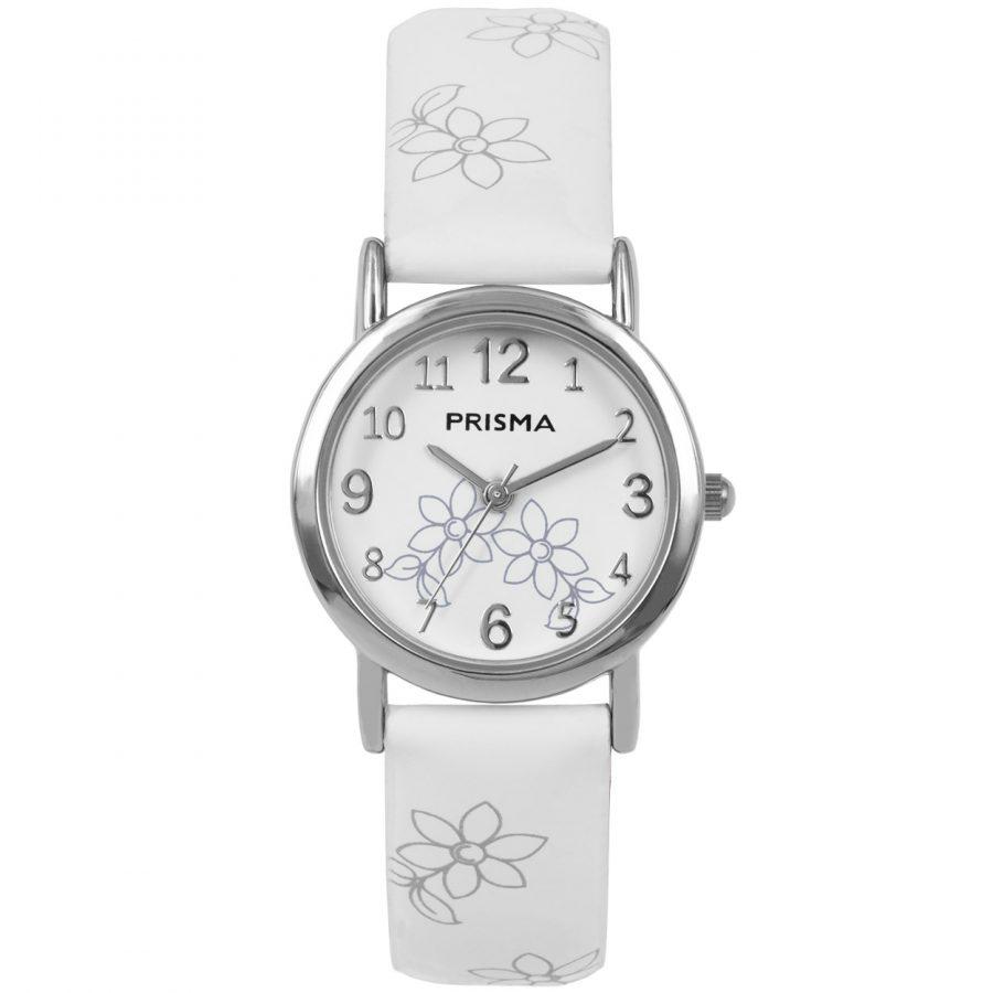 Prisma-CW361-kids-horloge-wit-lily