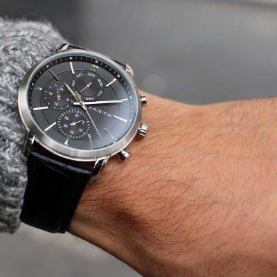 men watch black heren horloge nederlands horlogemerk goed dutch watch brand good