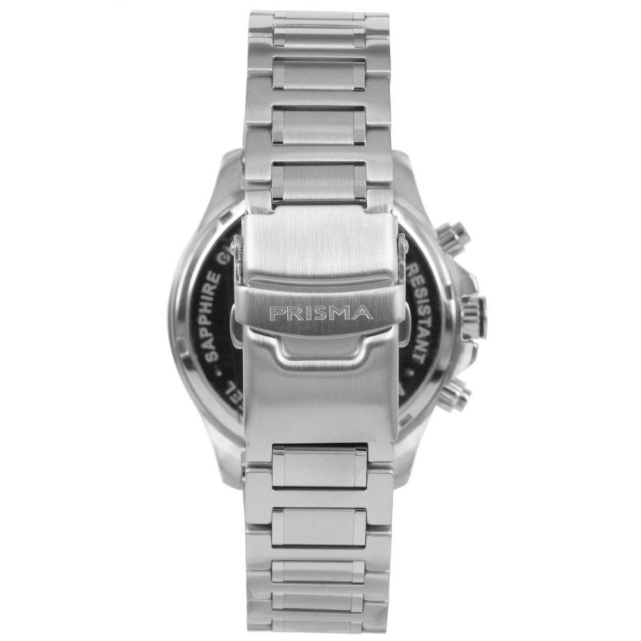 Prisma Triton 1330 Black chronograph side Zwarte chronograaf zijkant