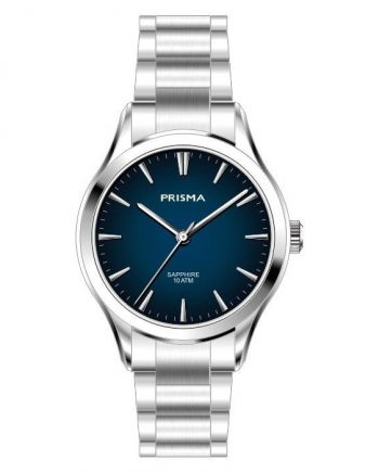 Minimalistic blue watch women ladies stylish Prisma 2009