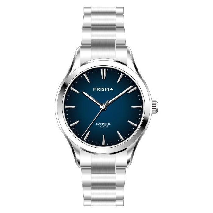 Minimalistic blue watch women ladies stylish Prisma 2009