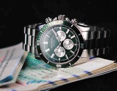 groen horloge