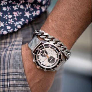 milanese horloge band mesh
